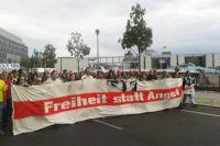 Demonstration in Berlin gegen Internet-Spionage der USA